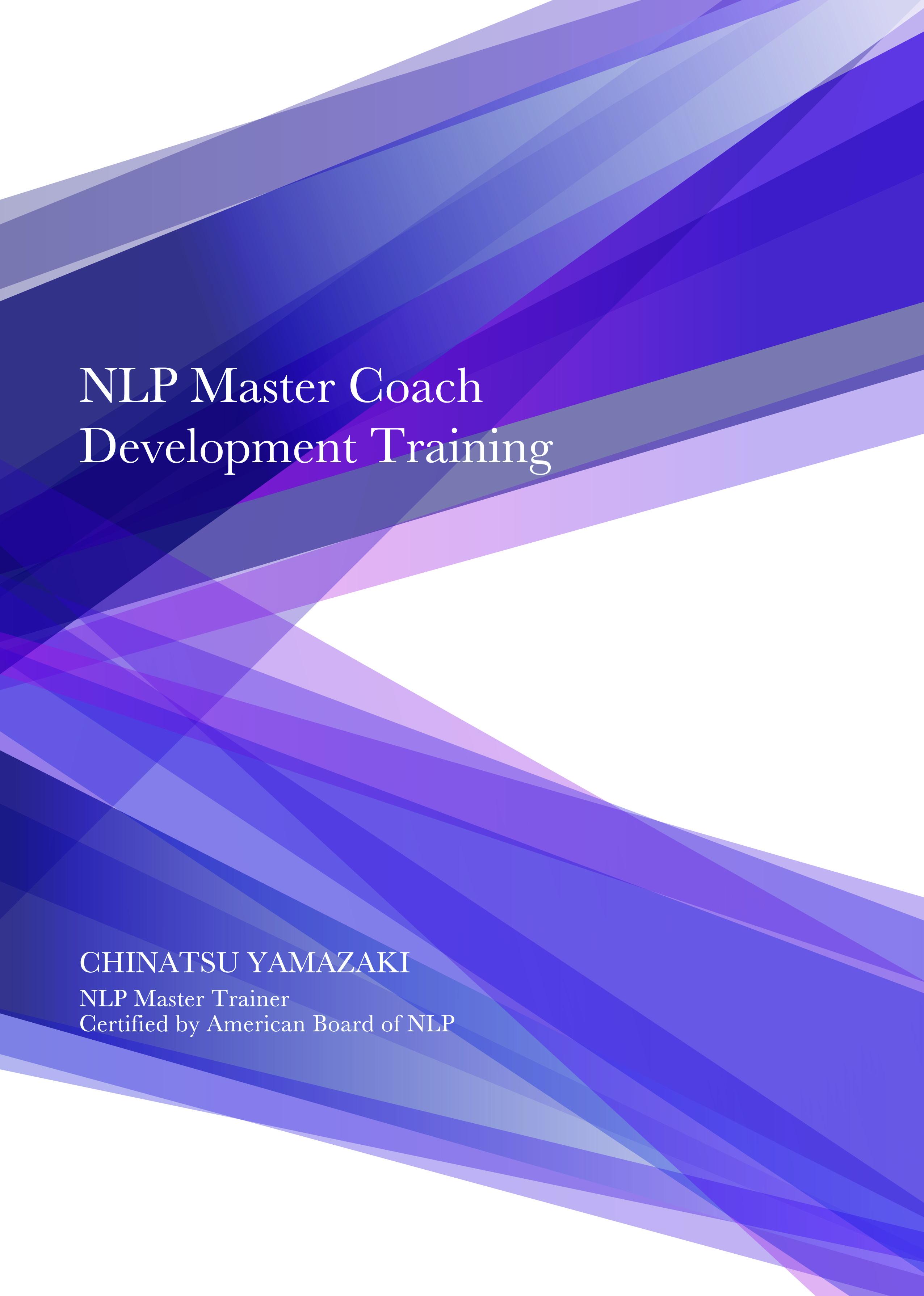 NLP Master Coach Development Training